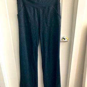 LULULEMON Straight Leg Pattern Fabric w/ Pockets